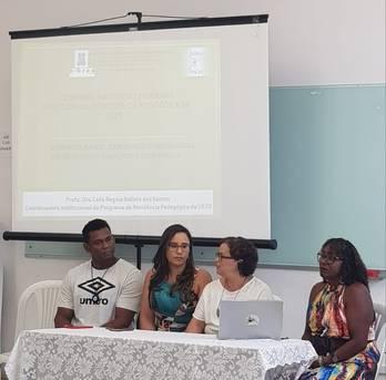 Imagens das atividades do XXVIII Seminário PALLE e o Seminário Interno da Resiped Inglês Espanhol